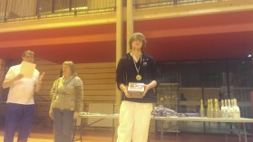 Thibaut champion departemental junior