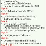Read more about the article Lettre aux archers N°9 & 10