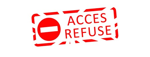 acces-refuse