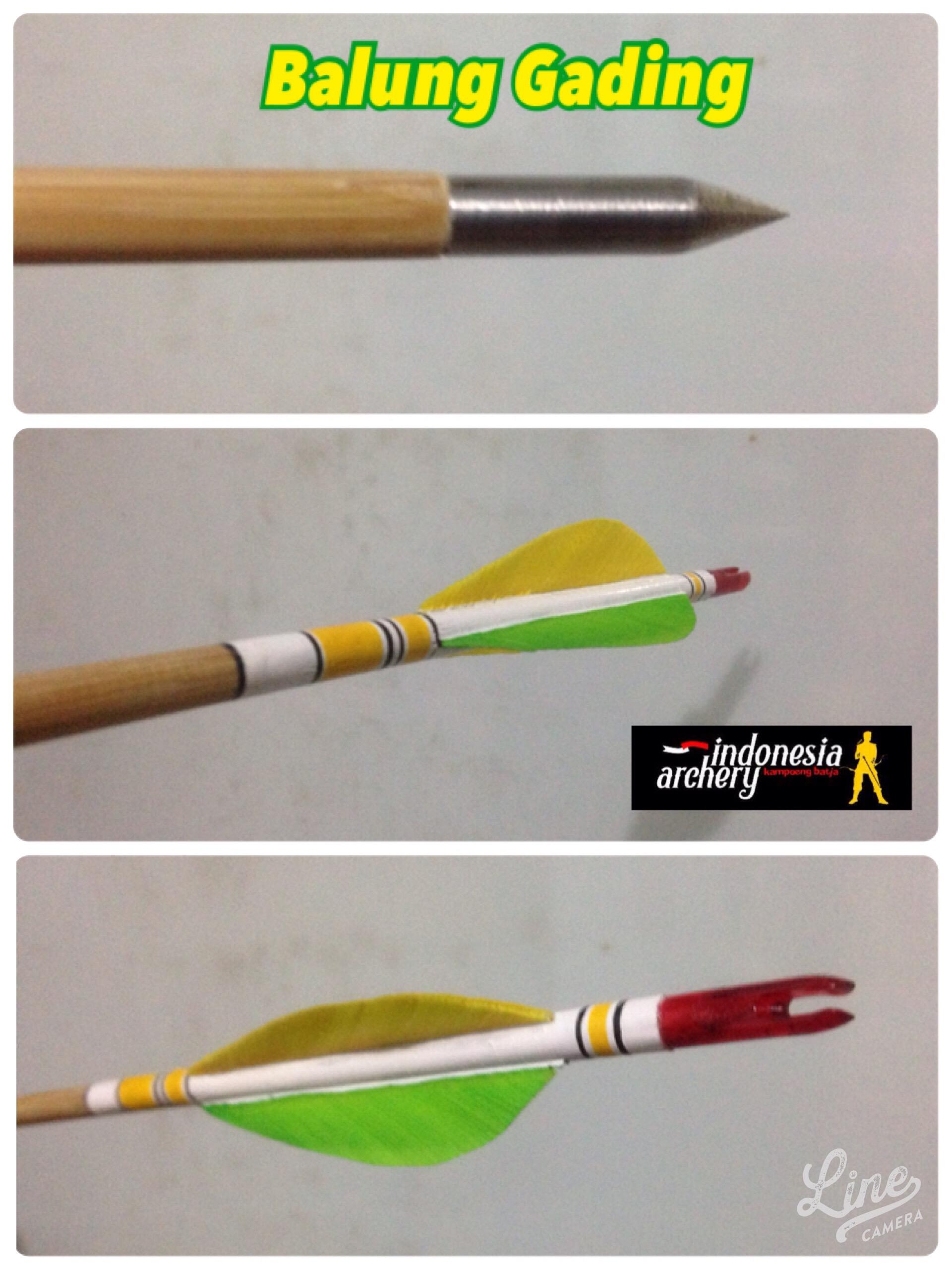 Membuat Anak Panah : membuat, panah, Proses, Pembuatan, Panah, Bambu, Archery, Indonesia