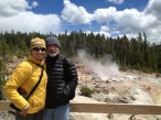 Yes, it snowed on us in Yellowstone.
