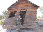 An old sheepherder's cabin