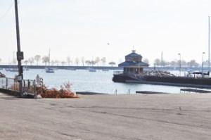 Marina at Lake Michigan
