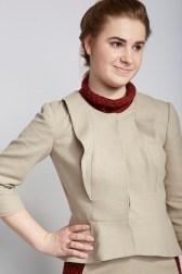 Sara Sybesma in Garment