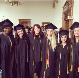 Arches graduating staff