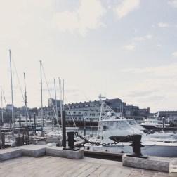 Boston Harbor. Photo by: Desi Ayu