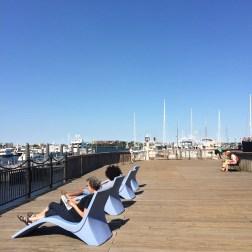 Boston Harbor. Picture by: Desi Ayu