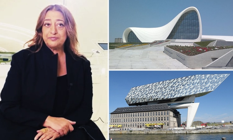 Zaha Hadid & her Architecture philosophies