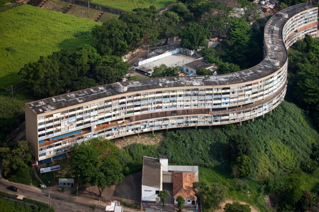 Groundscrapers: The long building architecture