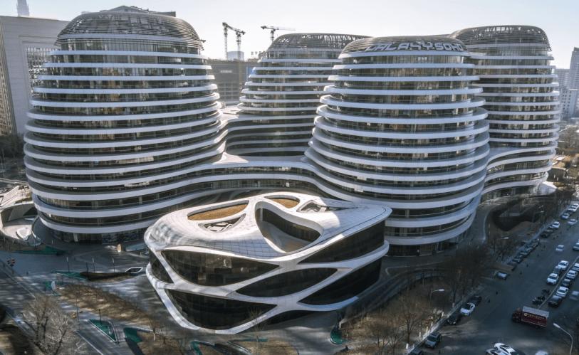 Galaxy SOHO Beijing-China, the Marvel of Zaha Hadid