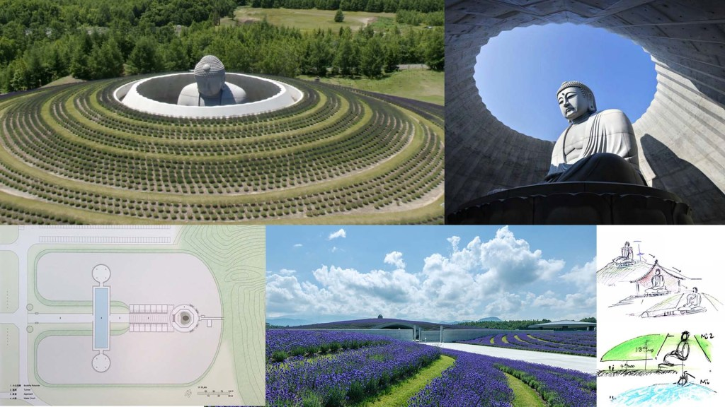 The hill of the Buddha – Tadao Ando