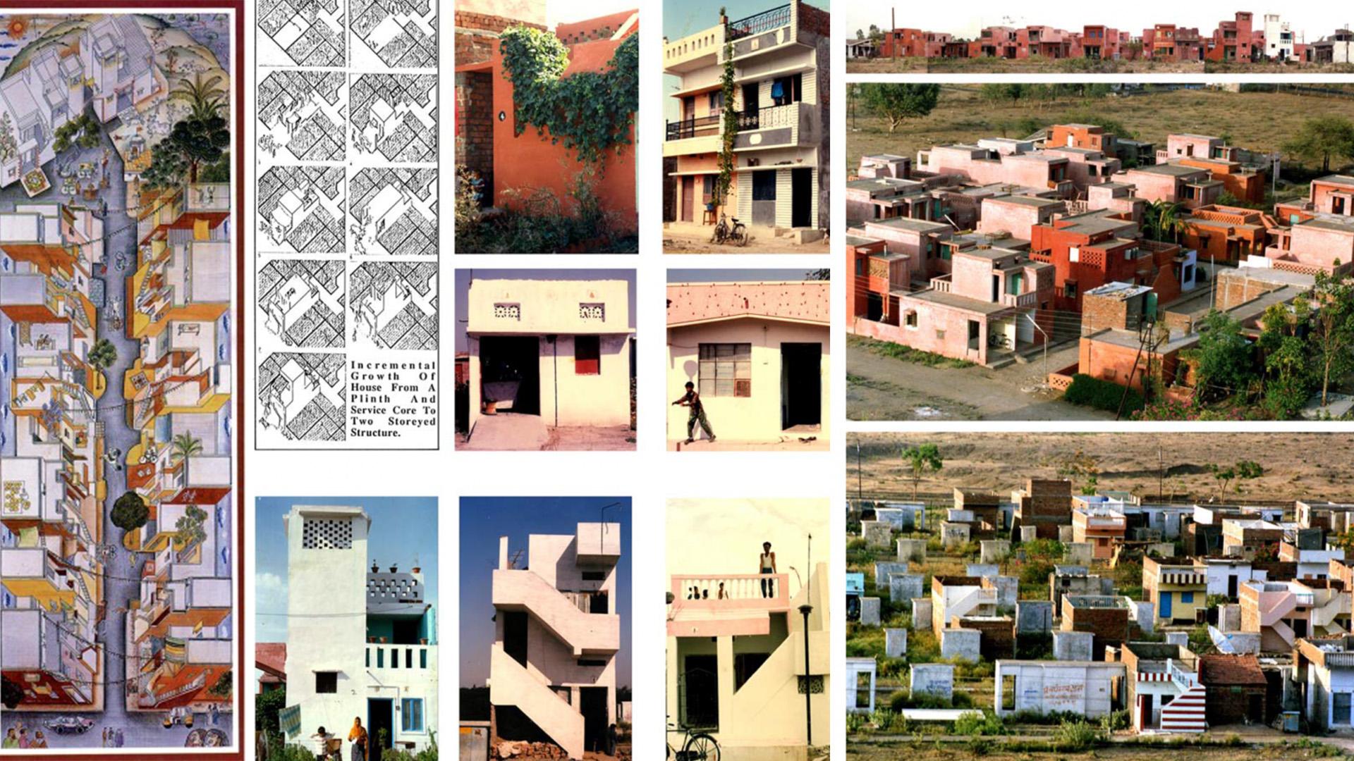 Aaranya Low-cost Housing by BV Doshi