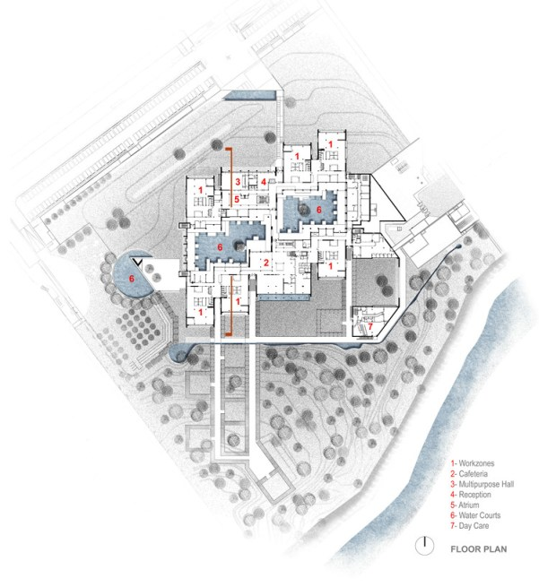 345 Telenor Campus by ARCOP- A Modern Approach with Traditional Material