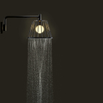 Axor_LampShower_by Nendo_Wall_Chrome_Night