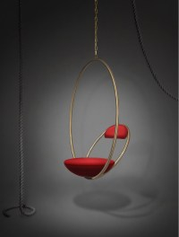Hanging Hoop Chair - Archetypal