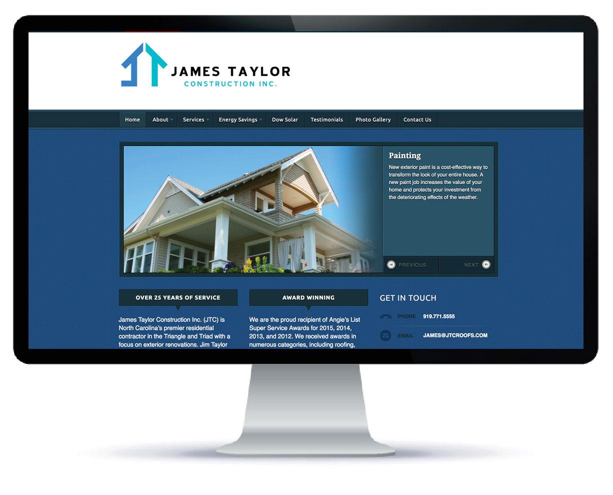 Raleigh Design Firm Website Sample