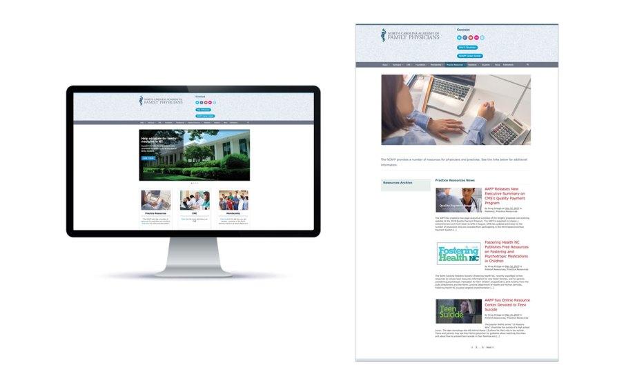 graphic design sample website wordpress