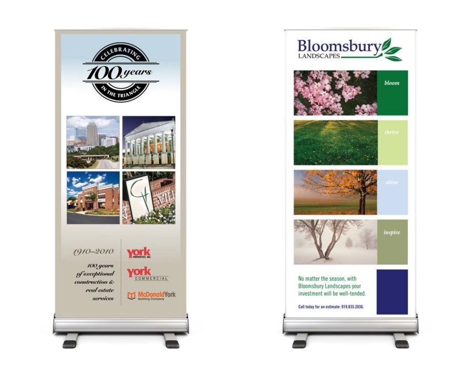 Graphic Design Samples Brandstands or Bannerstands