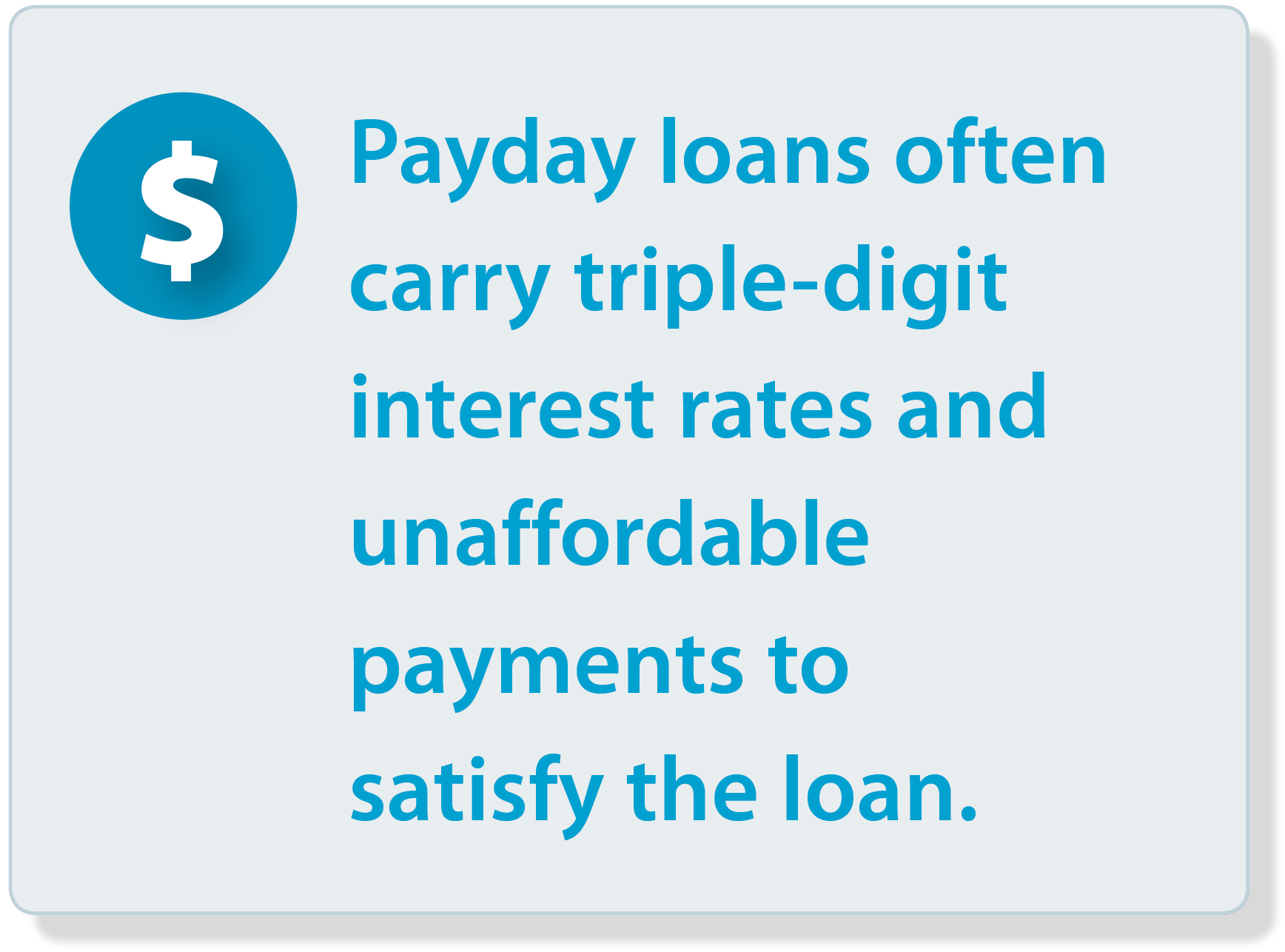 Payday lenders in michigan infographic