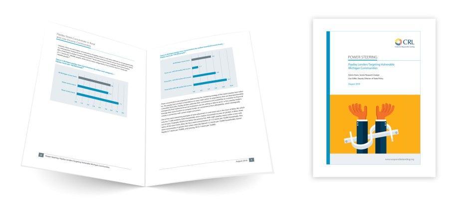 MI Report Graphic design sample