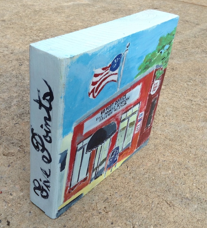 USPS painting five points raleigh