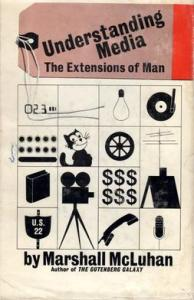Cover of 1964 edition, Understanding Media: The Extensions of Man