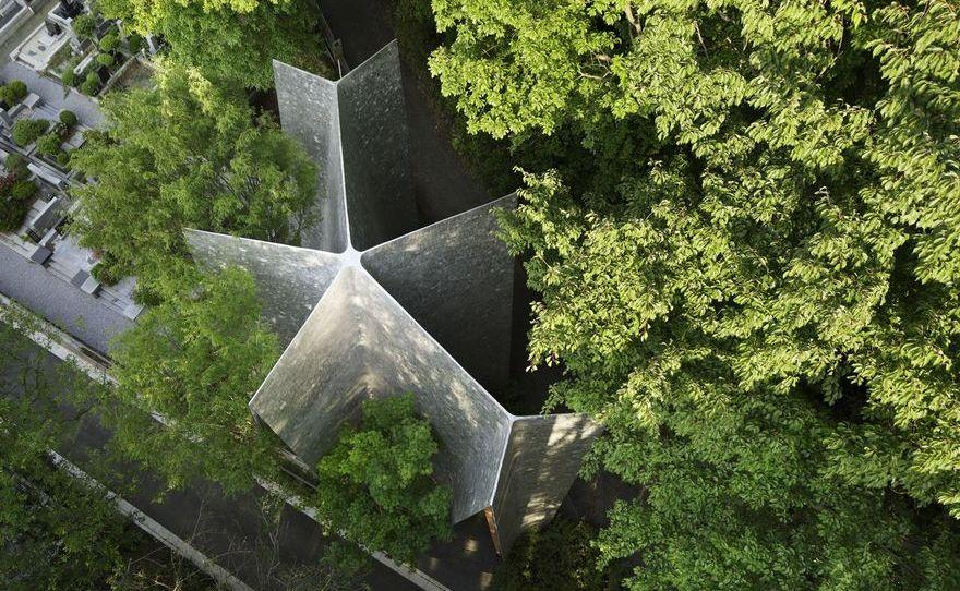 Sayama Forest Chapel / Hiroshi Nakamura & NAP