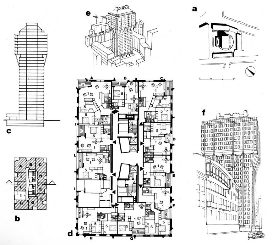 Velasca Tower mosaic (Ferrari, 2003)