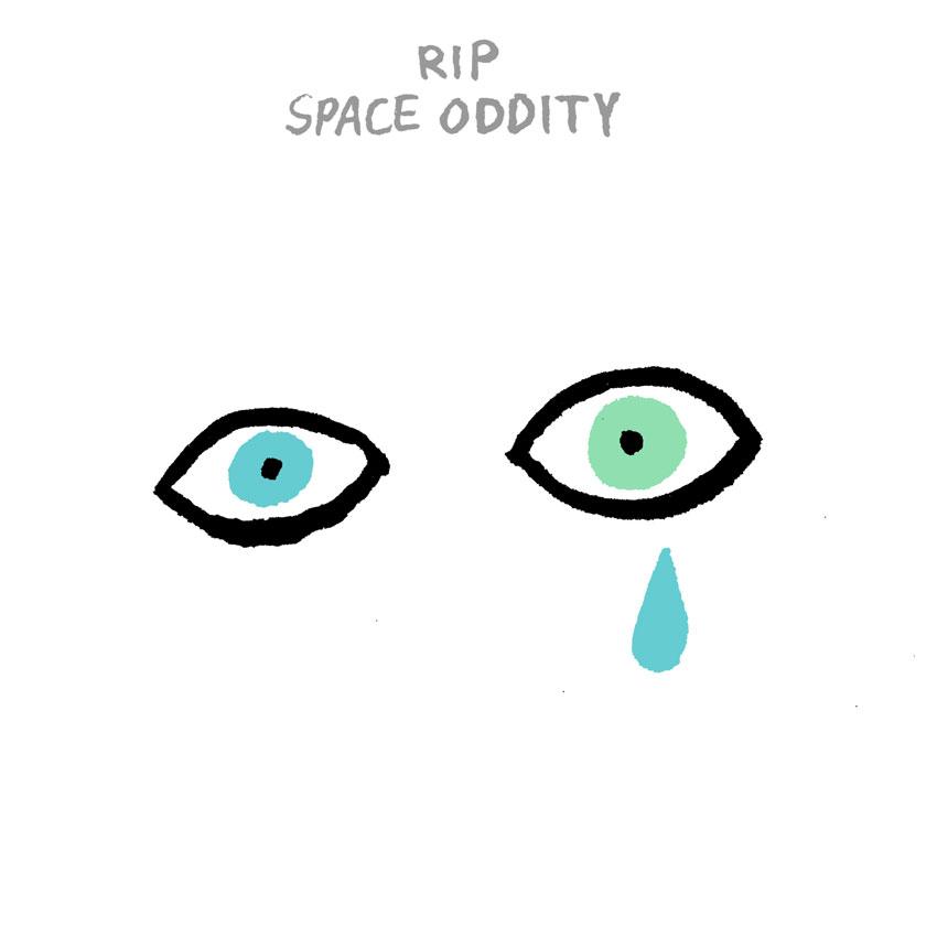 David Bowie illustration by Jean Jullien