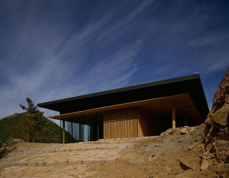 Bamboo House Commune by the Great Wall / Kengo Kuma & Associates | ArchEyes