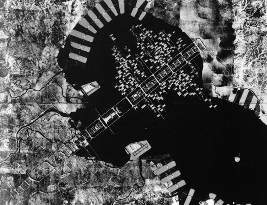 A plan for Tokyo 1960 / Kenzo Tange
