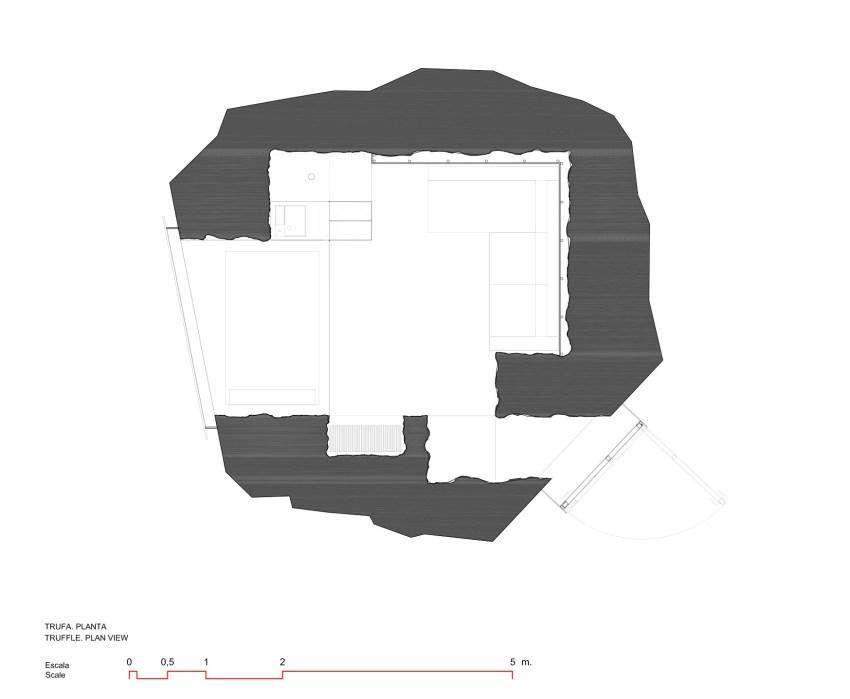 Floor Plan - The Truffle house / Ensamble Estudio