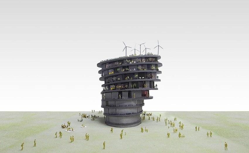 Evacuation Tower / Hiroshi Nakamura & NAP