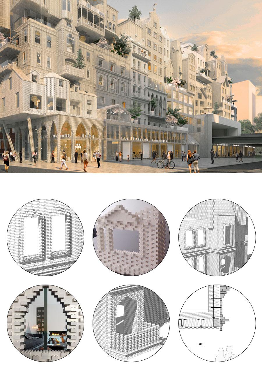 Housing project for Paris / Marin + Trottin