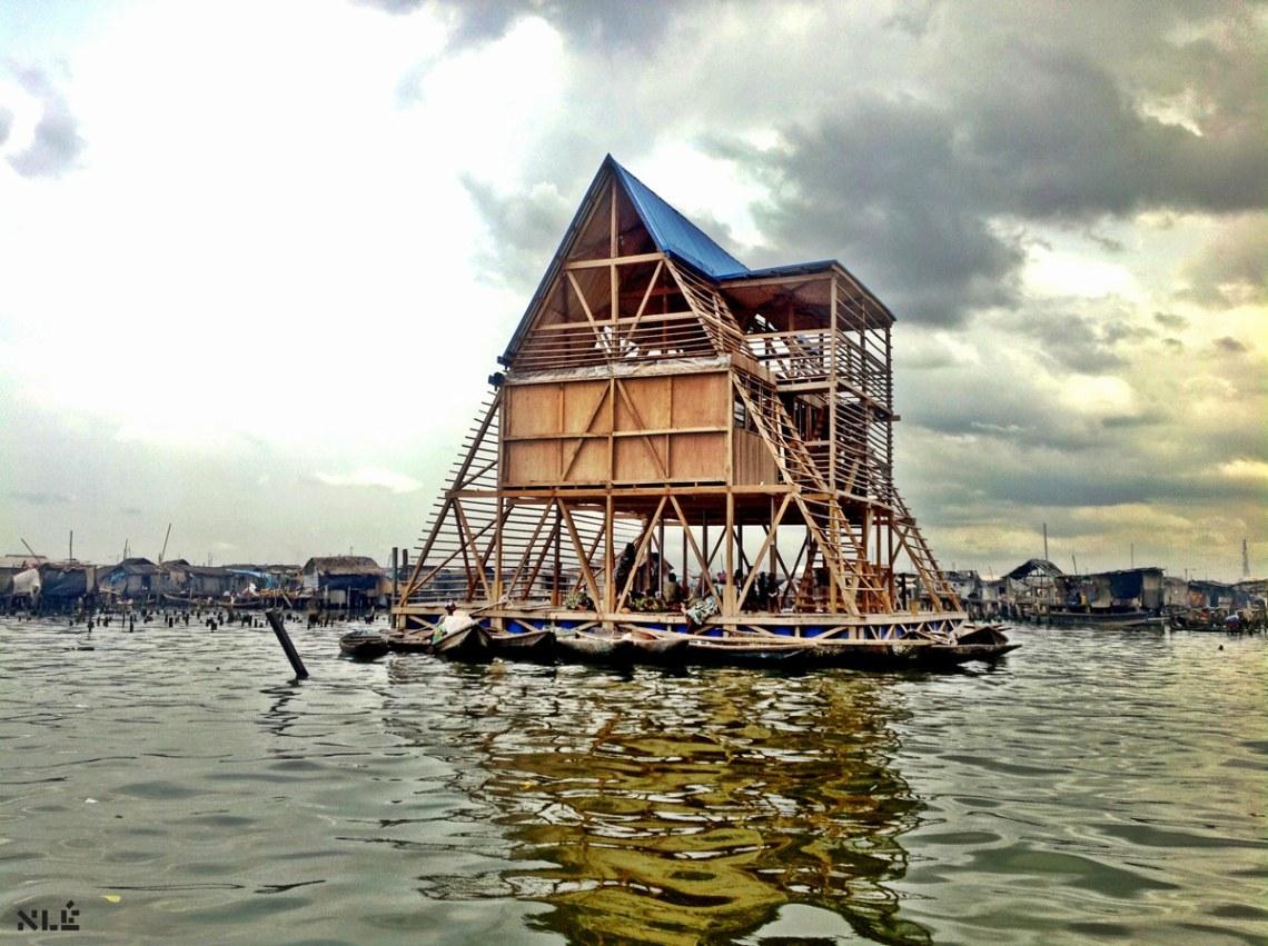 Serpentine Summer House 2016 / Kunlé Adeyemi – NLÉ
