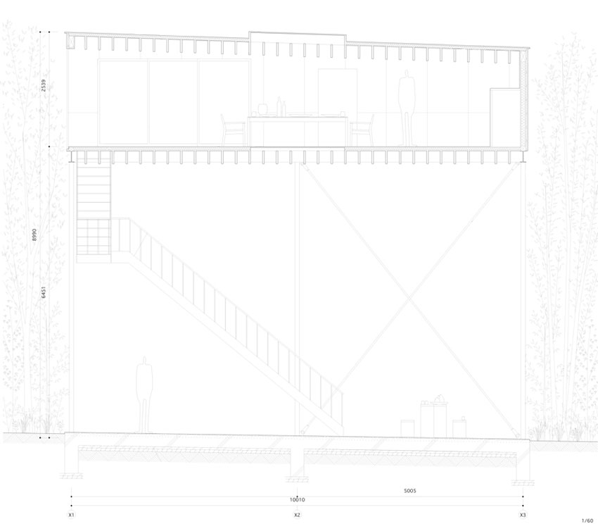 Section of House