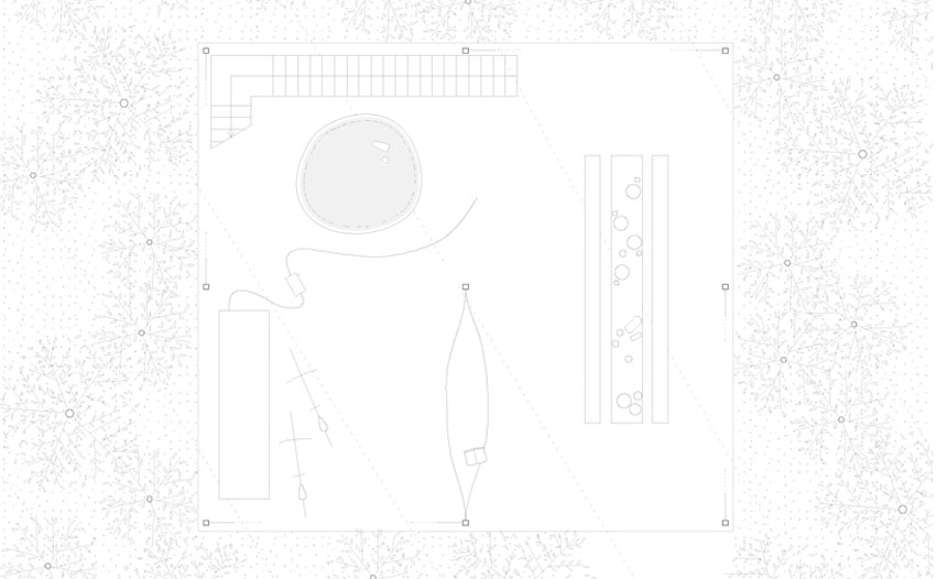 Floor Plan - Pilotis in a Forest House / Go Hasegawa