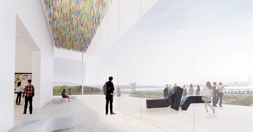 Sydney Art Gallery of New South Wales expansion / SANAA