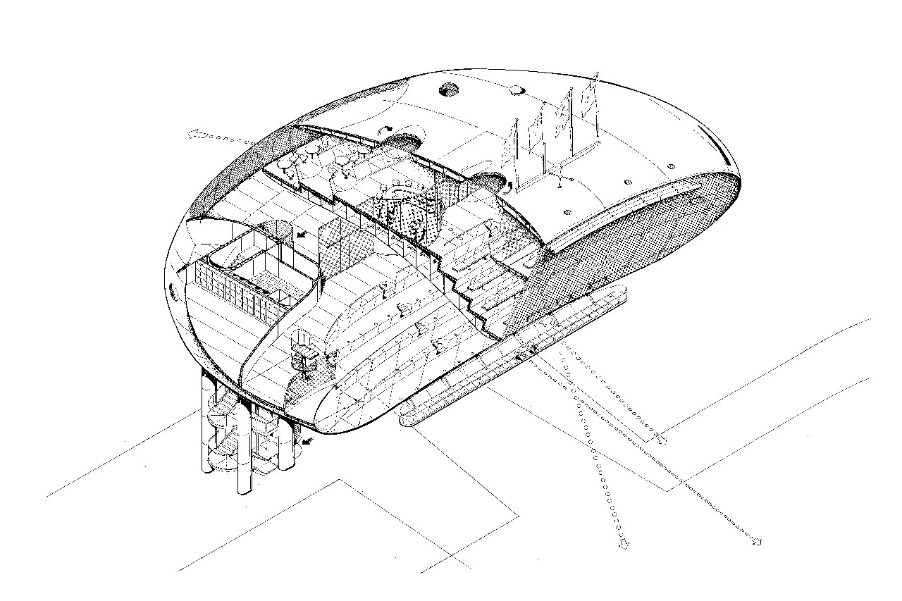 11 Amazing Drawings of Neofuturistic Architecture by Jan
