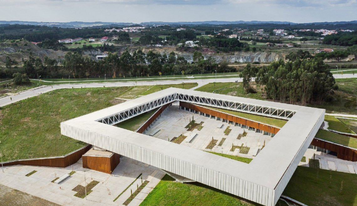 Aerial View - Technological Park of Óbidos / Jorge Mealha