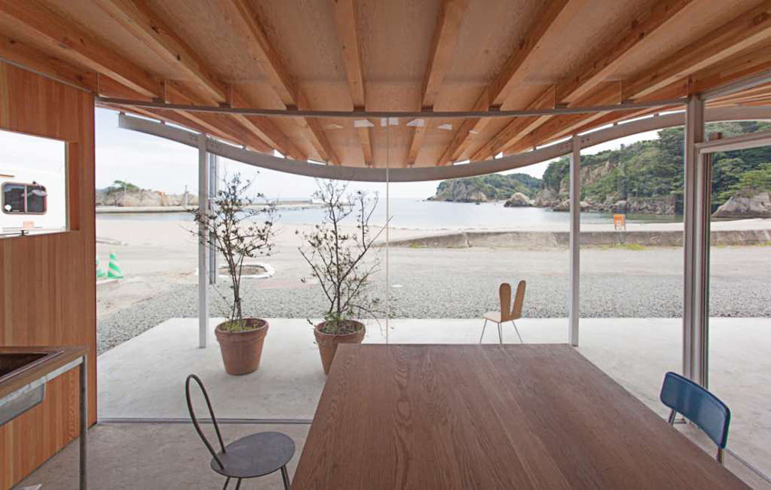 Home for All Shelter in Tsukihama by SANAA