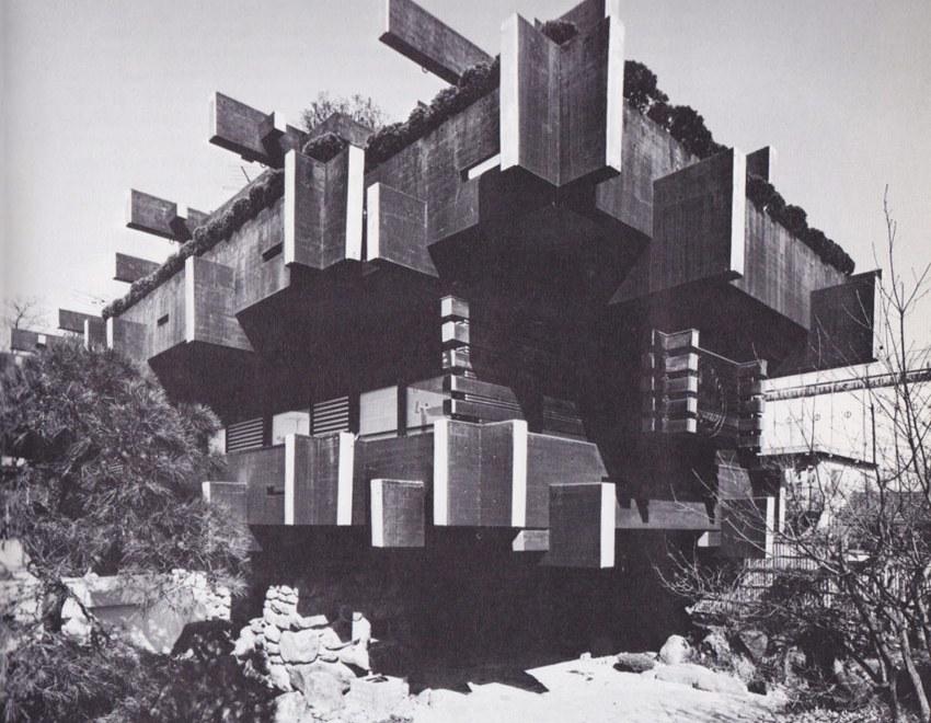Nishida House, 1966 / Yoji Watanabe