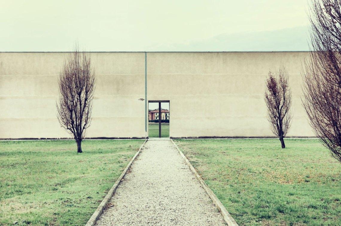 San Cataldo Cemetery Entrance by Aldo Rossi