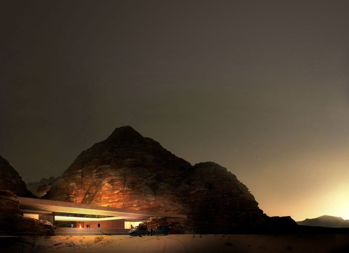 WADI RUM Desert Resort / Oppenheim Architecture