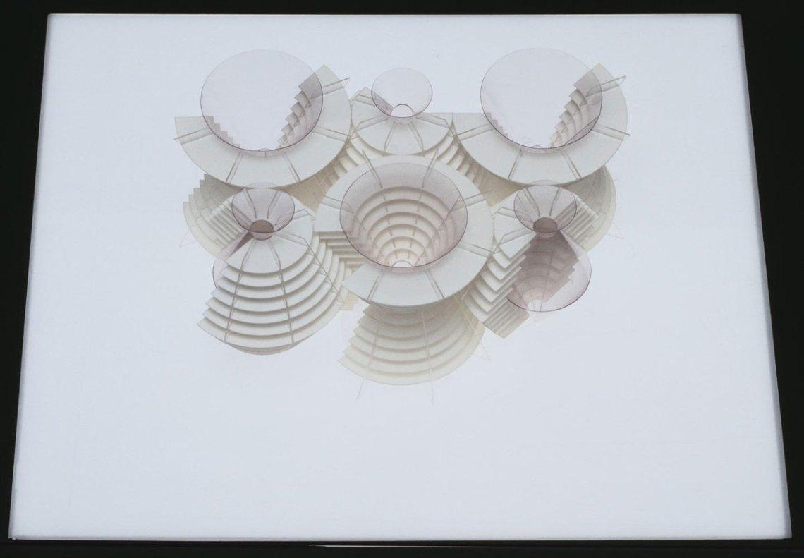 The Golgi Structure by Fumihiko Maki, 1968