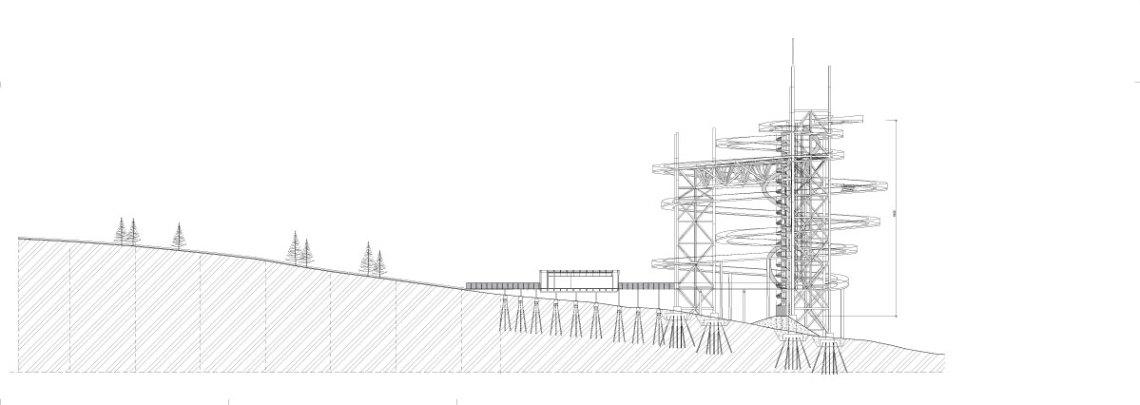 Sky Walk Plans / Fránek Architects