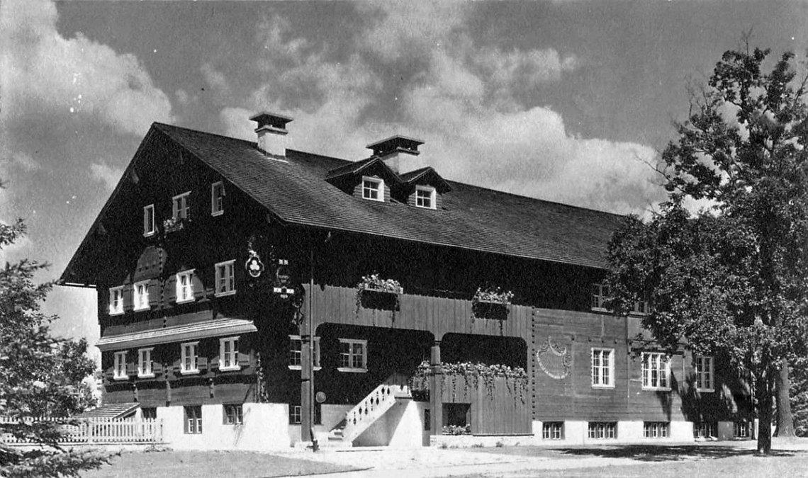 "Traditional ""Wälderhaus"""