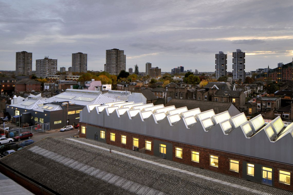 The Sackler Building / Haworth Tompkins Architects