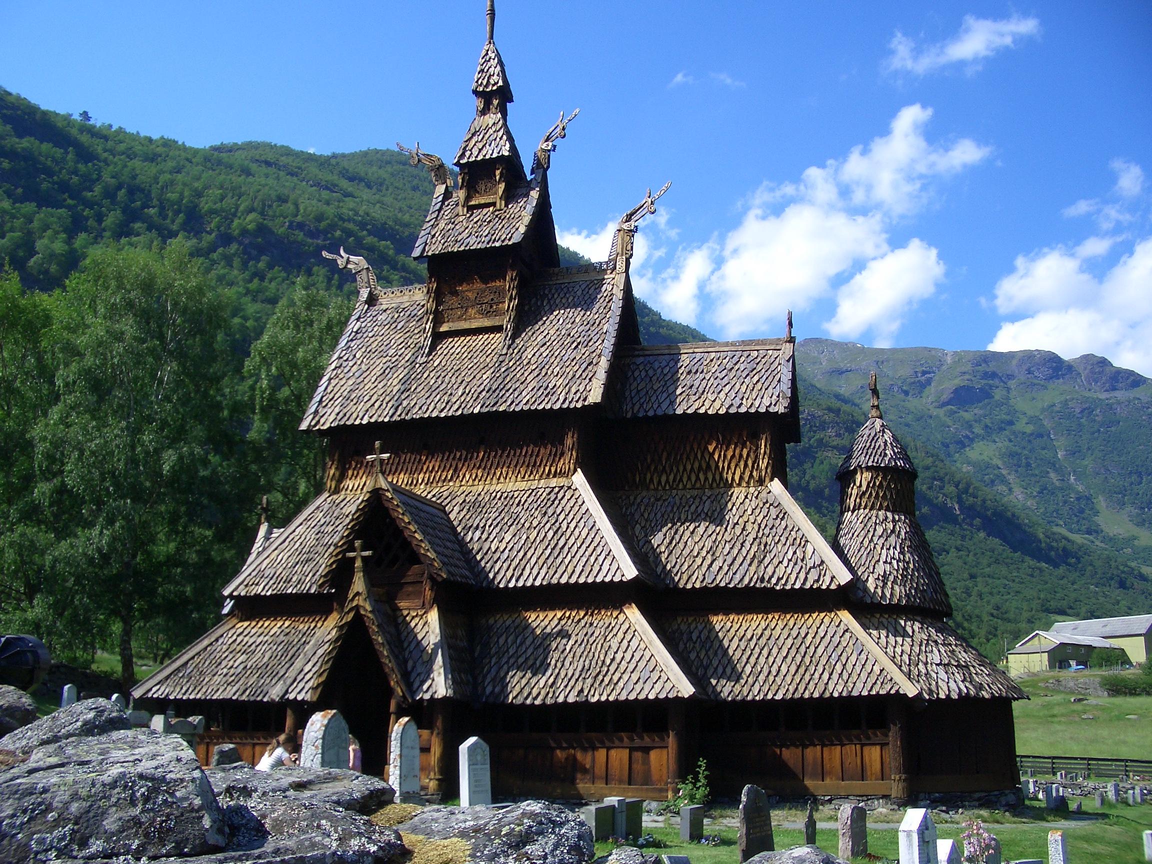 Borgund Stave Church  ArchEyes