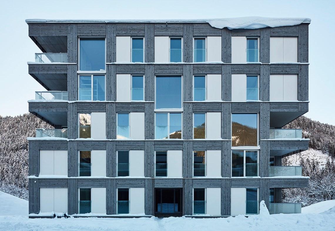 Passivhausanlage Apartments / D O R N E R \ M A T T  Architects